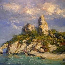 R W Goetting - Beach on Sardinia