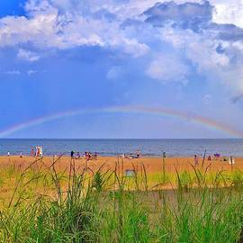Kim Bemis - Beach Rainbow - Rehoboth Beach Delaware