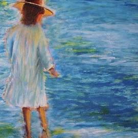 Beach walker by John Scates