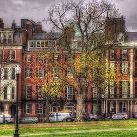 Joann Vitali - Beacon Street Brownstones - Boston