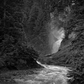 Bear Creek Falls by Allan Van Gasbeck