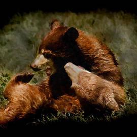 Ernie Echols - Bear Cubs Playing