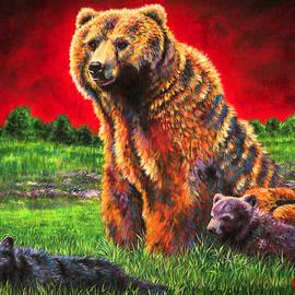 Beargrass by Teshia Art