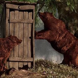 Bears Around The Outhouse by Daniel Eskridge