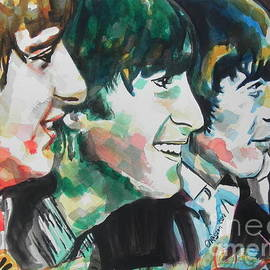 The Beatles 02 by Chrisann Ellis
