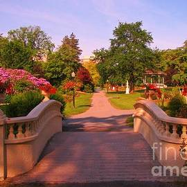 John Malone - Beautiful Foot Bridge in Halifax Public Gardens