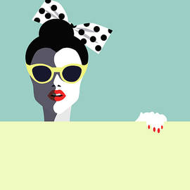 Beautiful Young Woman With Sunglasses by Ralwel
