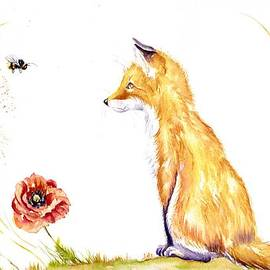 Fox Cub - Bee a Family by Debra Hall