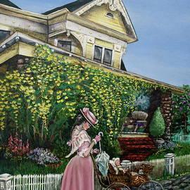 Behind the Garden Gate by Linda Simon