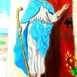 Behold Jesus At The Door by Jo-Ann Hayden