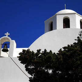 Colette V Hera  Guggenheim  - Bella Santorini Island Church Greece