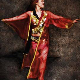 Joan  Minchak - Belly Dancer in Red