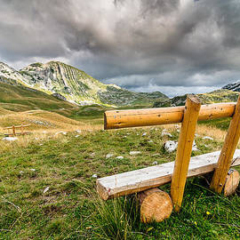 Benches of Durmitor by Sergey Simanovsky