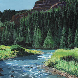 Bend In The River by Timithy L Gordon