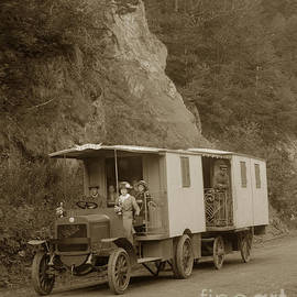 California Views Mr Pat Hathaway Archives - Berliet CBA French C B A Truck called the Deam Le Reve circa 1913