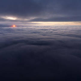 Between the Clouds by Dustin  LeFevre