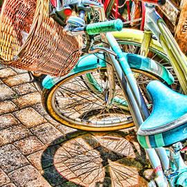 Diana Sainz - Bicycle Blue By Diana Sainz