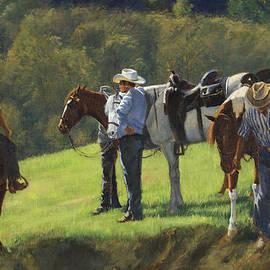 Don  Langeneckert - Big Creek Trail Ride Break