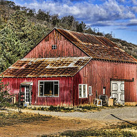Big Red Barn by Photographic Art by Russel Ray Photos