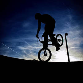 Joel Loftus - Bike Silhouette