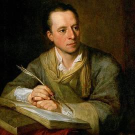 Bildnis Johann Joachim Winckelmann by Celestial Images