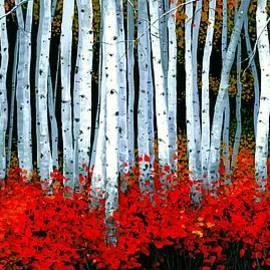 Michael Swanson - Birch 24 x 48