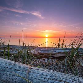Birch bay sunset by Eti Reid