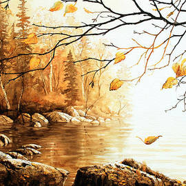 Birch Island Mist by Hanne Lore Koehler