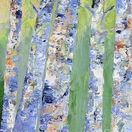 Claire Bull - Birches