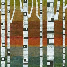 Birches by Michelle Calkins