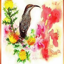 Australian Bird Dreaming by Hartmut Jager