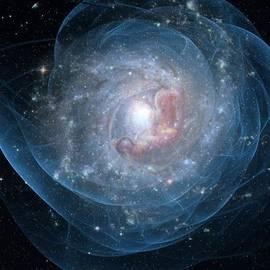 Birth of a galaxy by Gun Legler