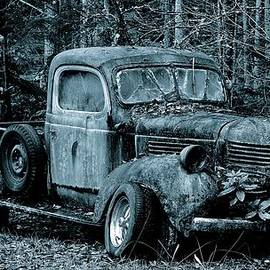 Lisa  Telquist - Black and White 1941 Dodge Pickup