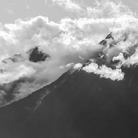 Mountain Range Bute Inlet  by Roxy Hurtubise