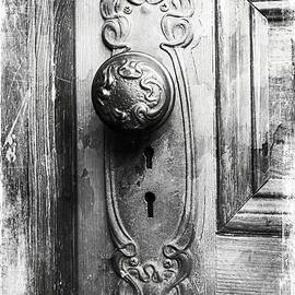 Melissa Bittinger - Black and White Distressed Door Knob