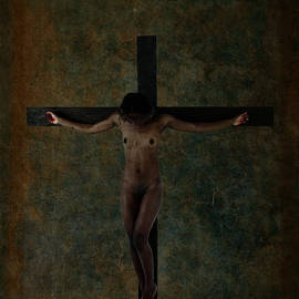 Ramon Martinez - Black Jesus Crucifix