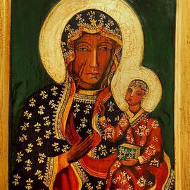 Ryszard Sleczka - Black Madonna of Czestochowa Icon