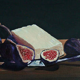 Susan Duda - Black Mission Figs With Cheese
