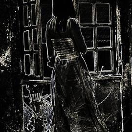 Jenny Rainbow - Black. Old Portuguese House. Goa. India