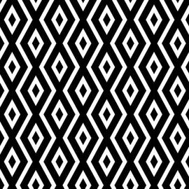 Black And White Pattern by Christina Rollo