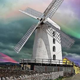 Blennerville Windmill by Kelly Schutz