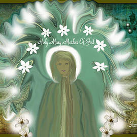 Blessed Mother If She Came To Earth Today by Sherri's - Of Palm Springs