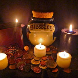 Blessings Overflow by Denise Mazzocco