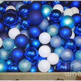 Blue and White for the Holidays by Dora Sofia Caputo