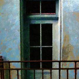 Blue Balcony by RC DeWinter