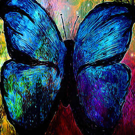 Catherine Harms - Blue Butterfly