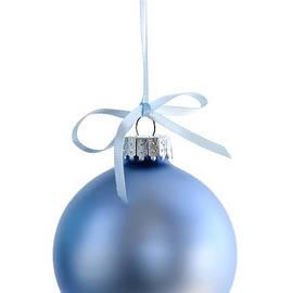 Elena Elisseeva - Blue Christmas bauble