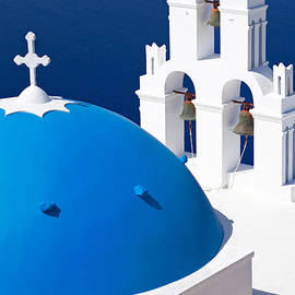 Aiolos Greek Collections - Blue dome church
