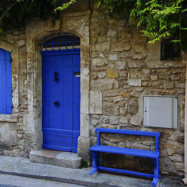 Greg Kluempers - Blue Door and Bench Arles France DSC01810