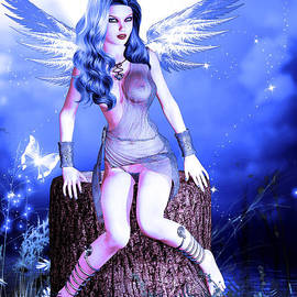 Blue Fairy by Alicia Hollinger